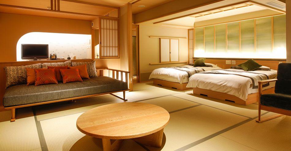 6階温泉露天風呂付き特別室