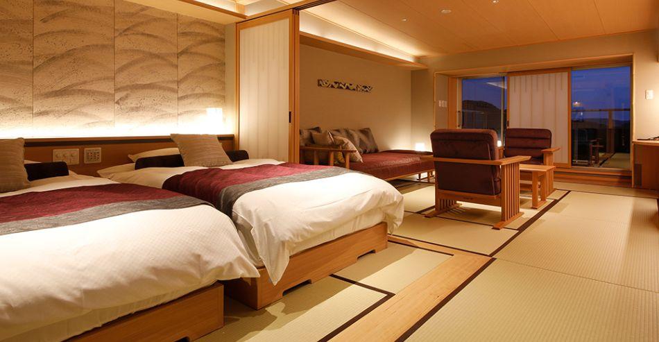 7階温泉露天風呂付き特別室