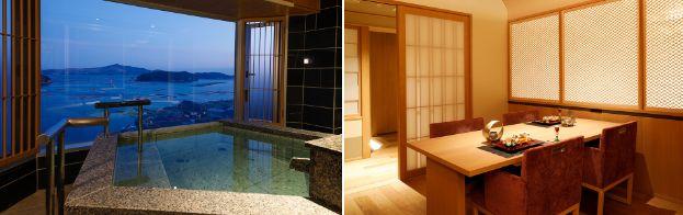 8階温泉露天風呂付き特別室露天風呂