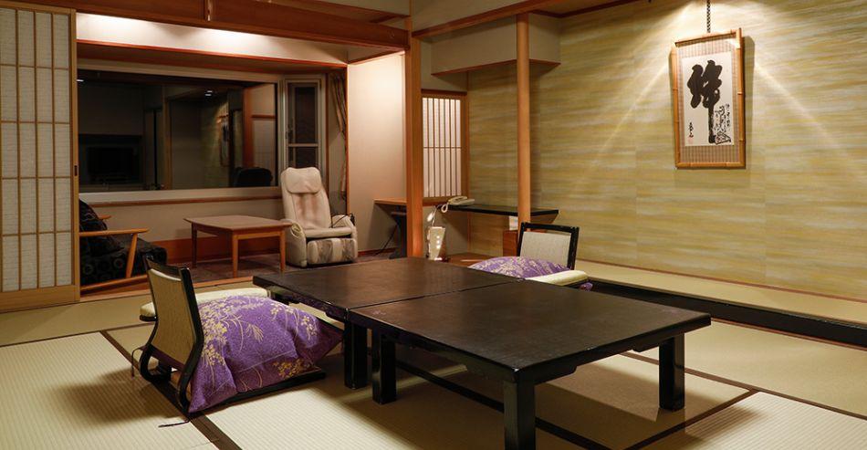 9階温泉露天風呂付き特別室