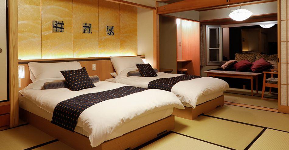 9階温泉露天風呂付き特別室バリアフリー